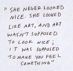 Pinterest.com  I believe the quote is from Eleanor & Park