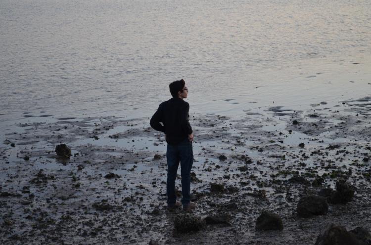 My brother Luis exploring. By: Gabriela Yareliz