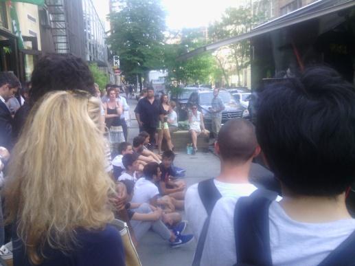 Some fun on West Broadway, summer 2014; Belongs to Gabriela Yareliz