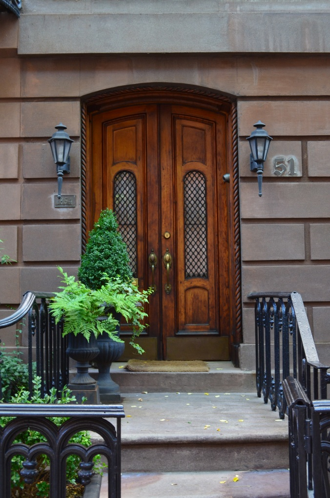 I love to look at the West Village doors; Belongs to: Gabriela Yareliz