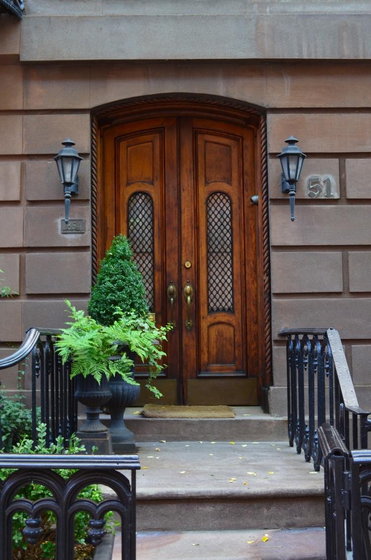 I love to look at the West Village doors; Belongs to: Gabriela Yareliz