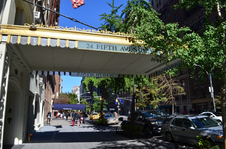 Fifth Avenue near Washington Sq. Park; Belongs to: Gabriela Yareliz