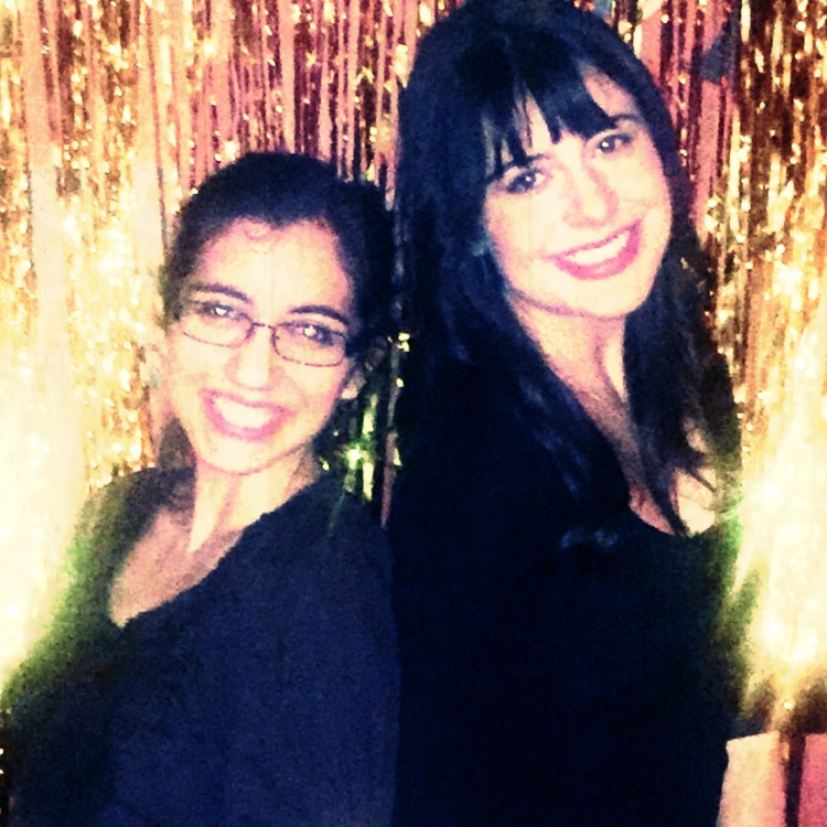 Me and Jehan at her very golden birthday party.