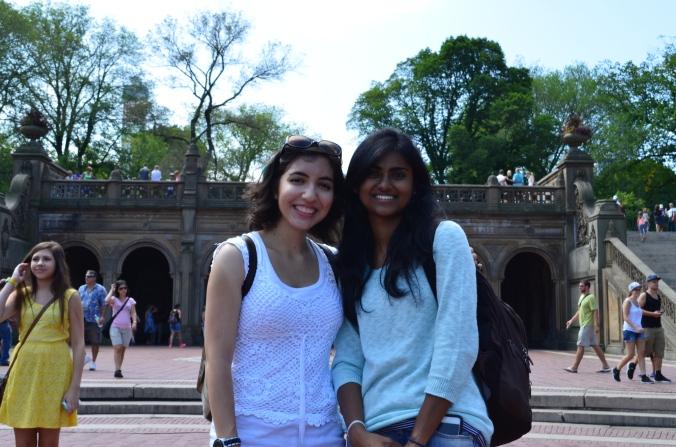 Me & Sugetha, Central Park, 2014