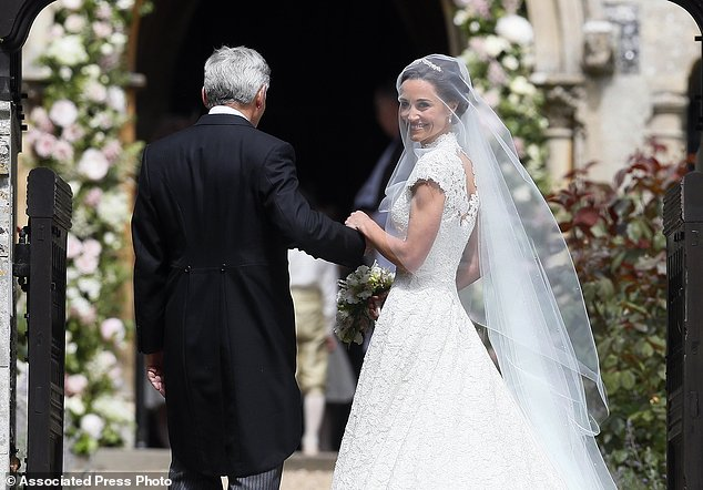 APTOPIX Britain Pippa Middleton